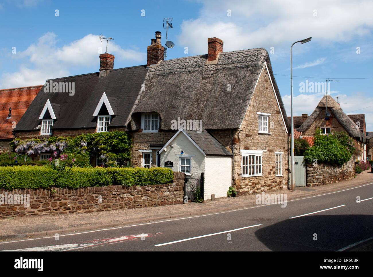 Blisworth village, Northamptonshire, England, UK - Stock Image