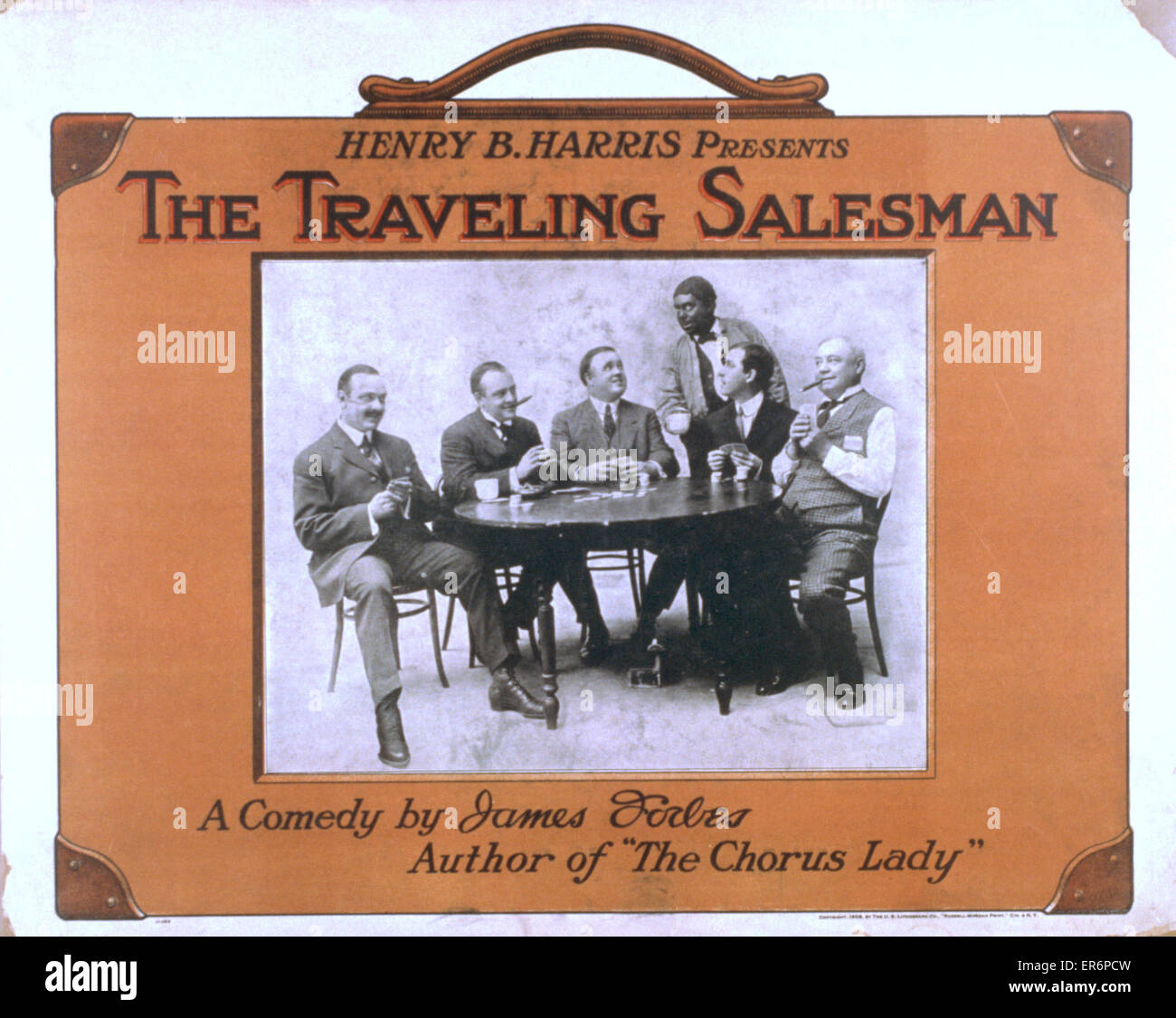 Henry B. Harris presents The traveling salesman a comedy by James Forbes,  author of