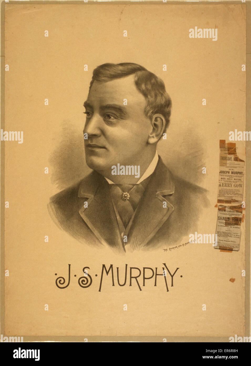 JS Murphy. Date ca. 1911. - Stock Image