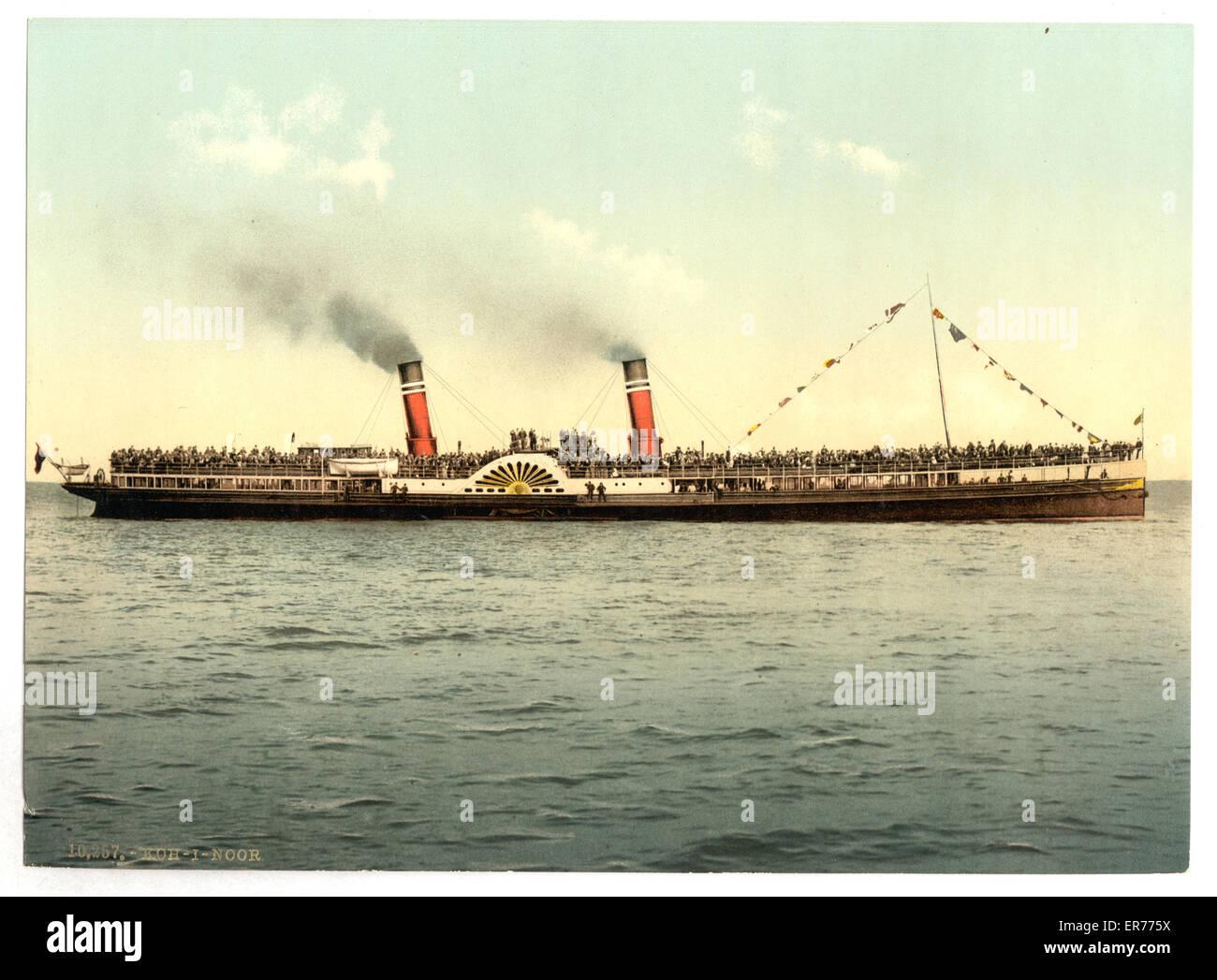 Koh-i-noor. Date between ca. 1890 and ca. 1900. Koh-i-noor. Date between ca. 1890 and ca. 1900. - Stock Image