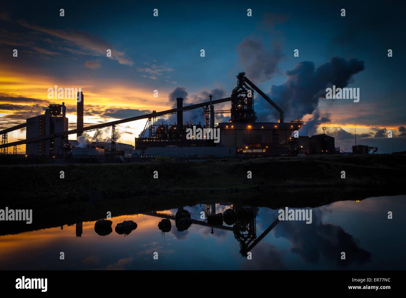 TWILIGHT BLUE - Stock Image