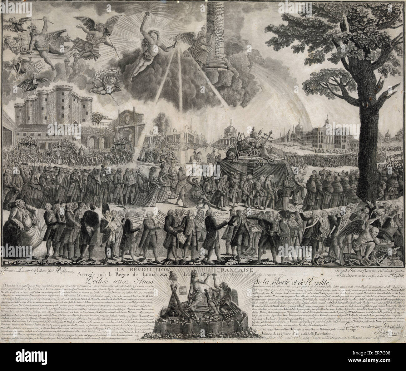 La Revolution Francaise - Stock Image
