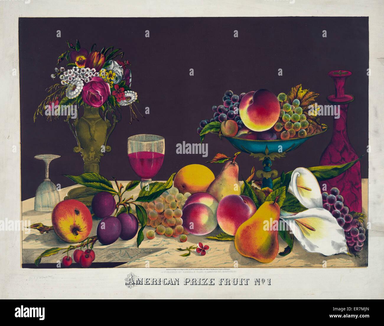 American prise fruit no. 1. - Stock Image