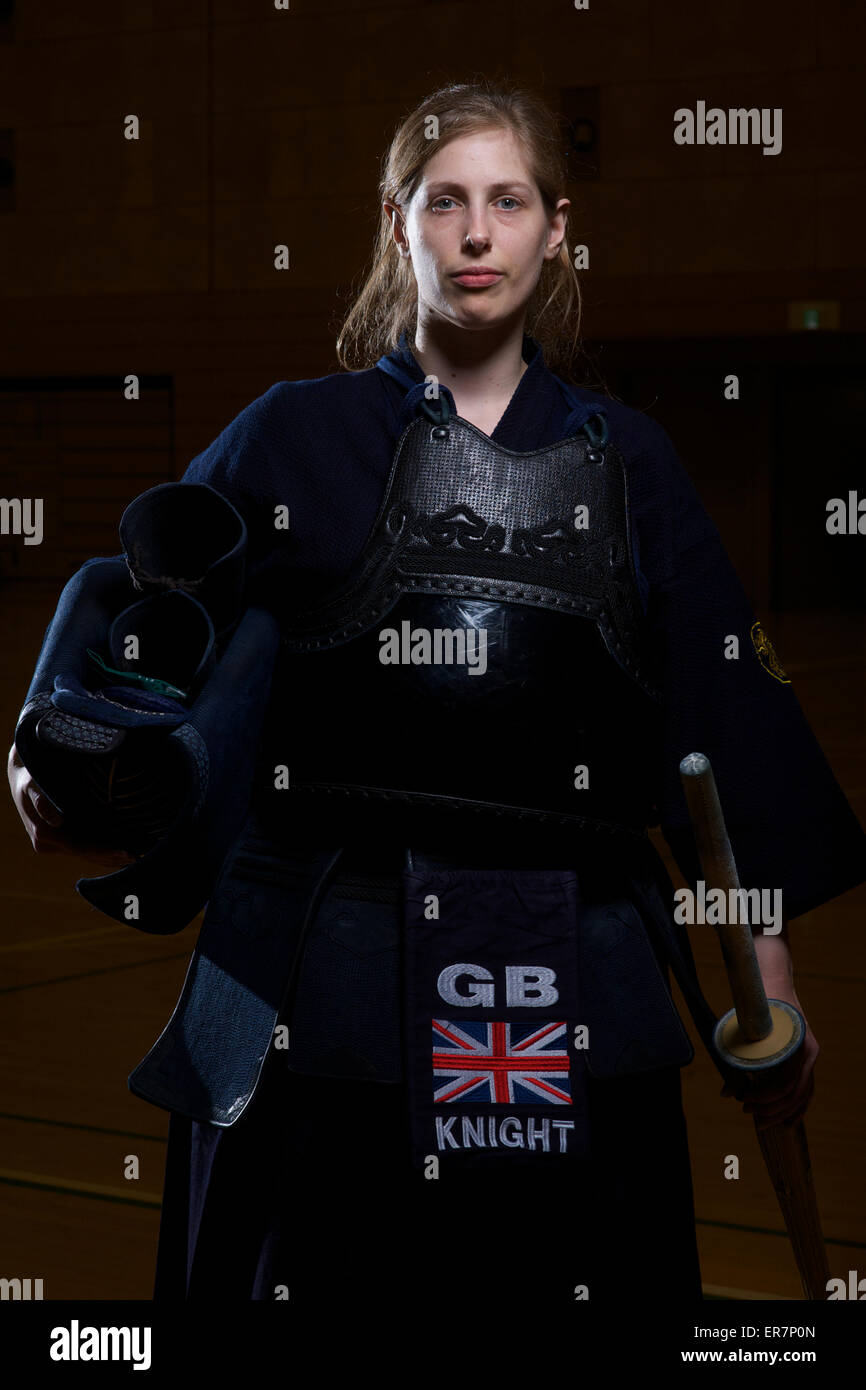 Tokyo Japan 28th May 2015 Emily Knight Captain Of The Gb Women S Stock Photo Alamy