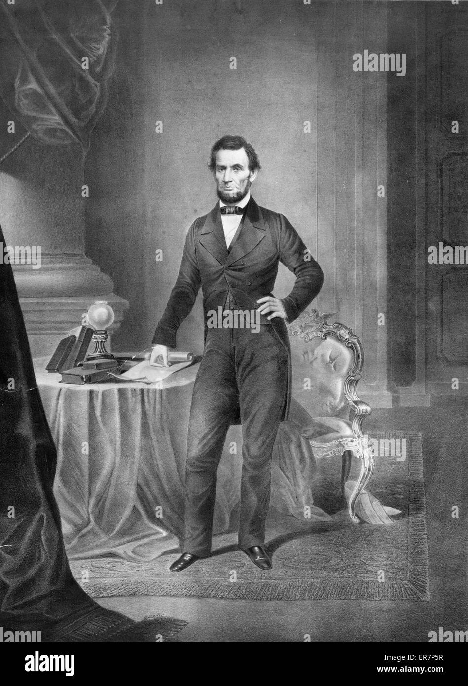 graphic regarding Printable Pictures of Abraham Lincoln named Abraham Lincoln. Print displaying Abraham Lincoln, total-period
