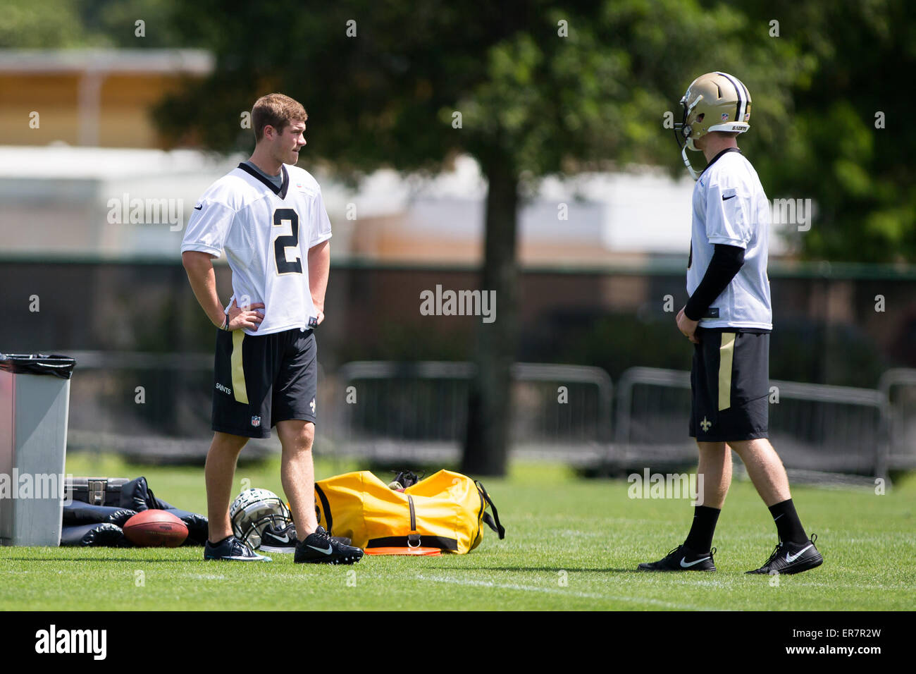 New Orleans Louisiana Usa 28th May 2015 New Orleans Saints