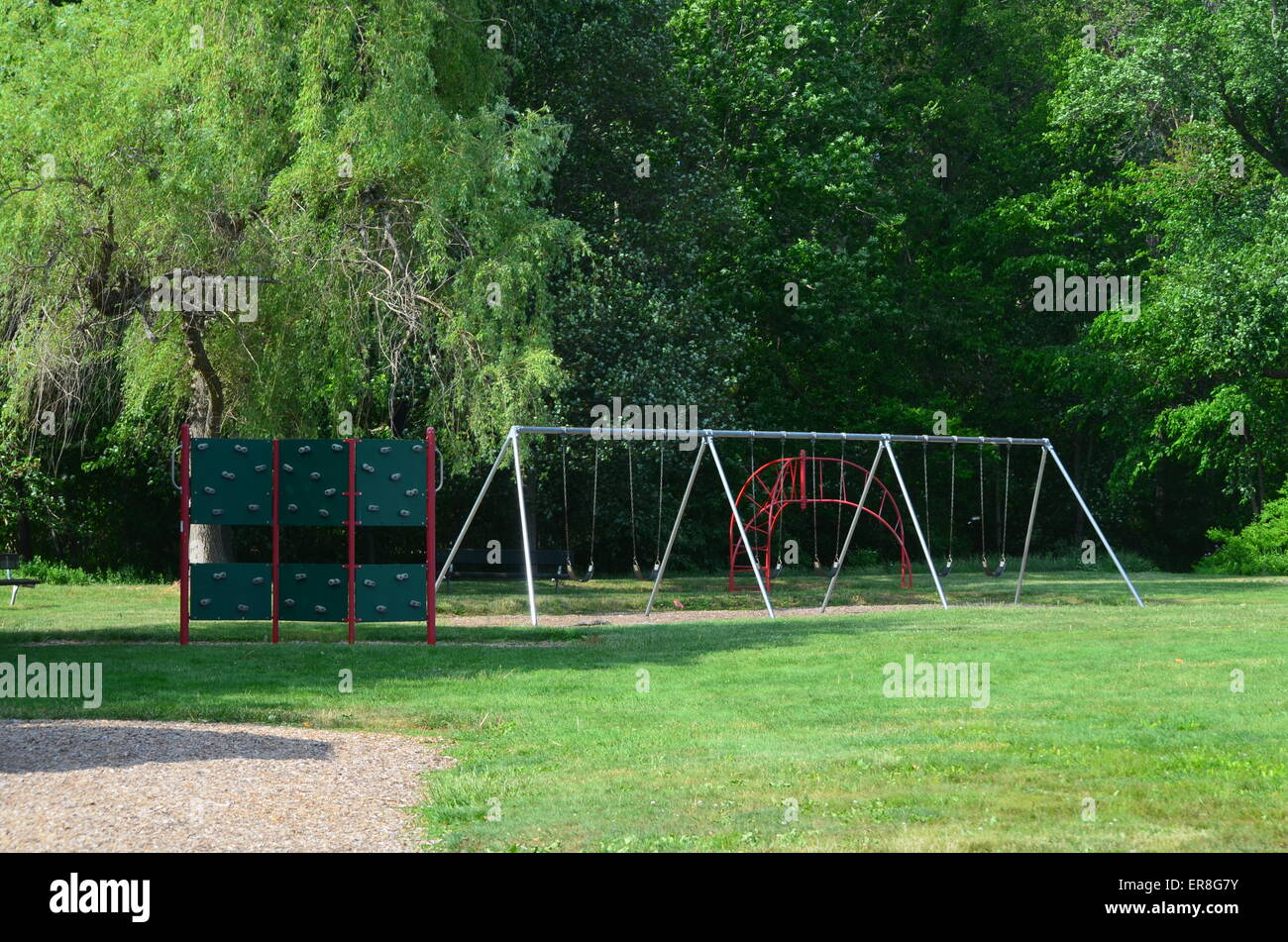 Swings - Stock Image