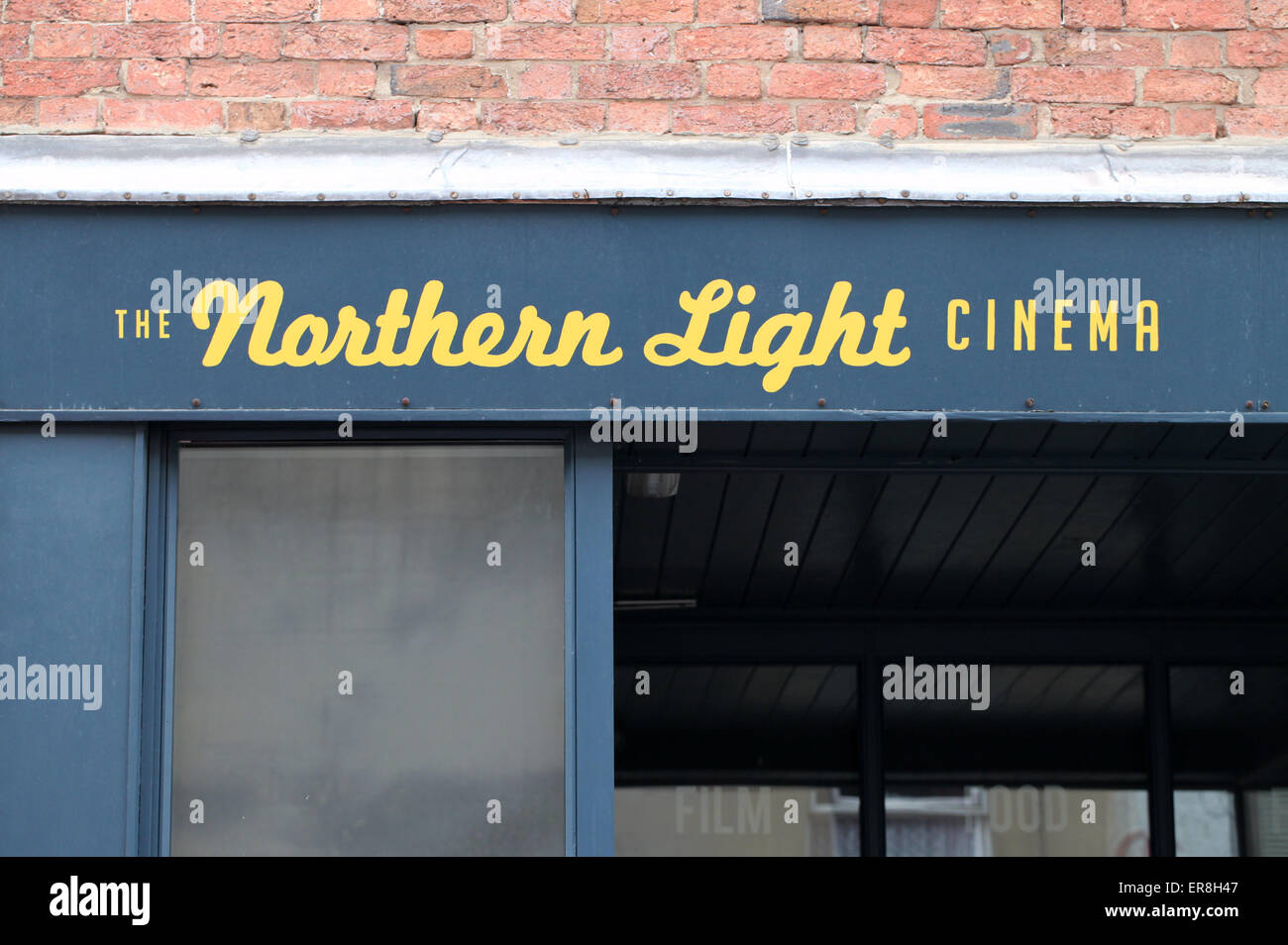 The Northern Light Cinema at Wirksworth in Derbyshire - Stock Image