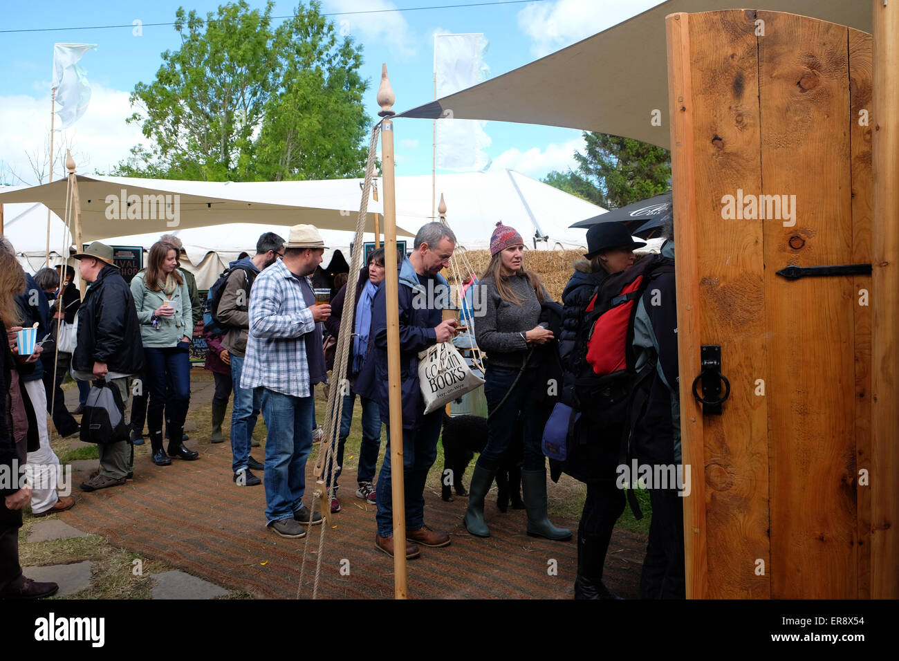 Hay on Wye, Powys, Wales. 29th May, 2015. How The Light Gets In festival embraces philosophy and music - Festival - Stock Image