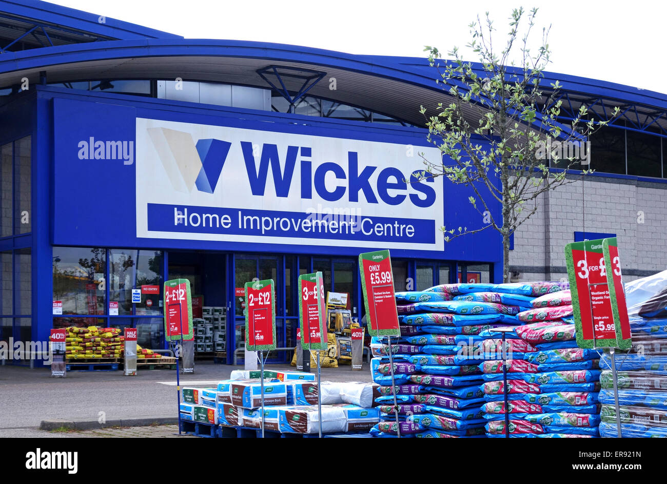Wickes home improvement centre - Stock Image