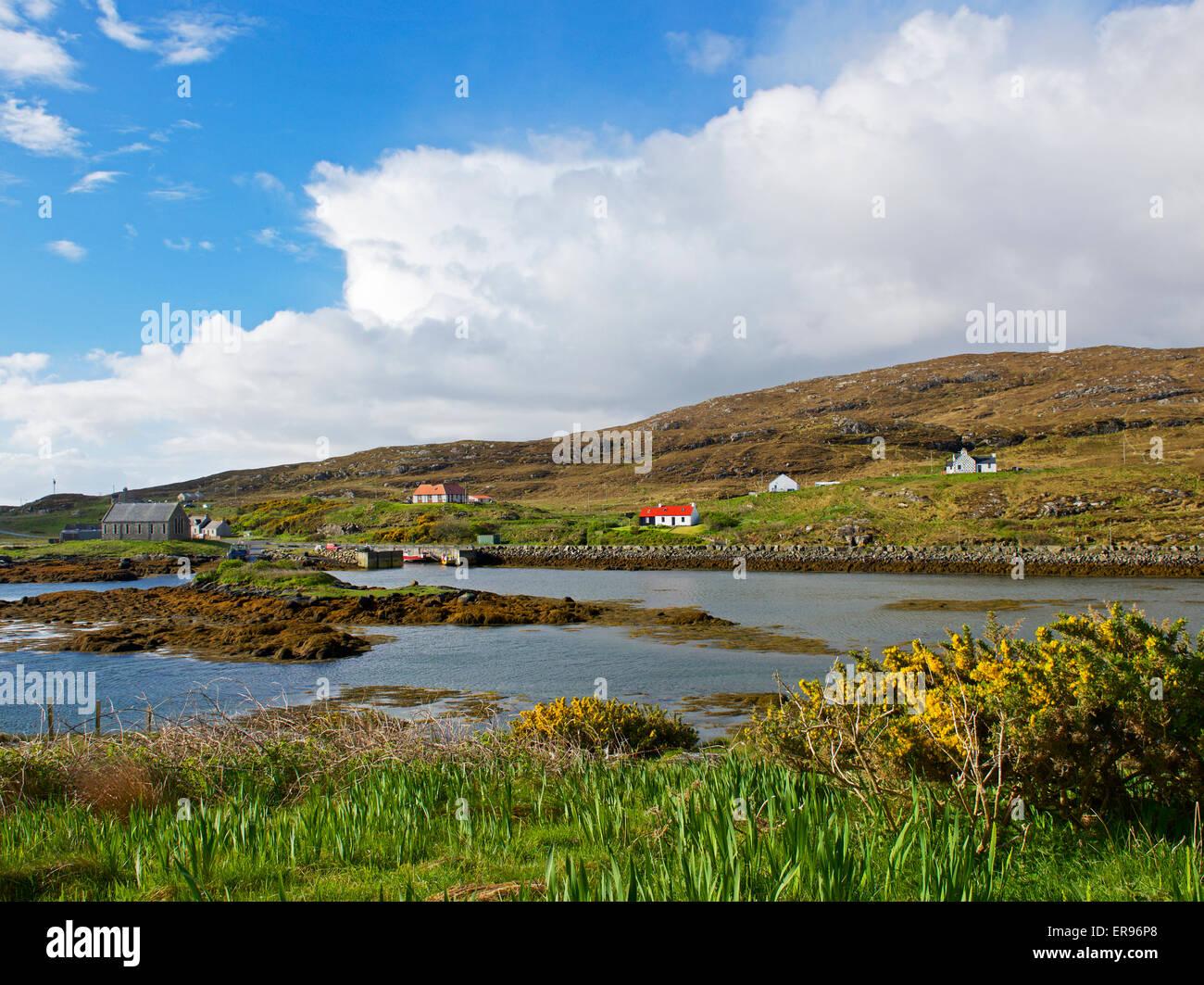 Northbay, Isle of Barra, Outter Hebrides, Scotland UK - Stock Image