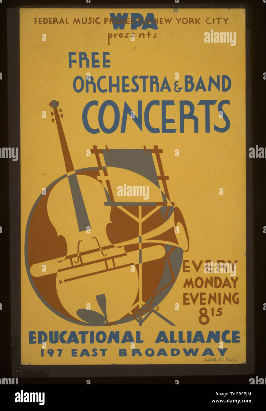 WPA Federal Music Project of New York City presents free