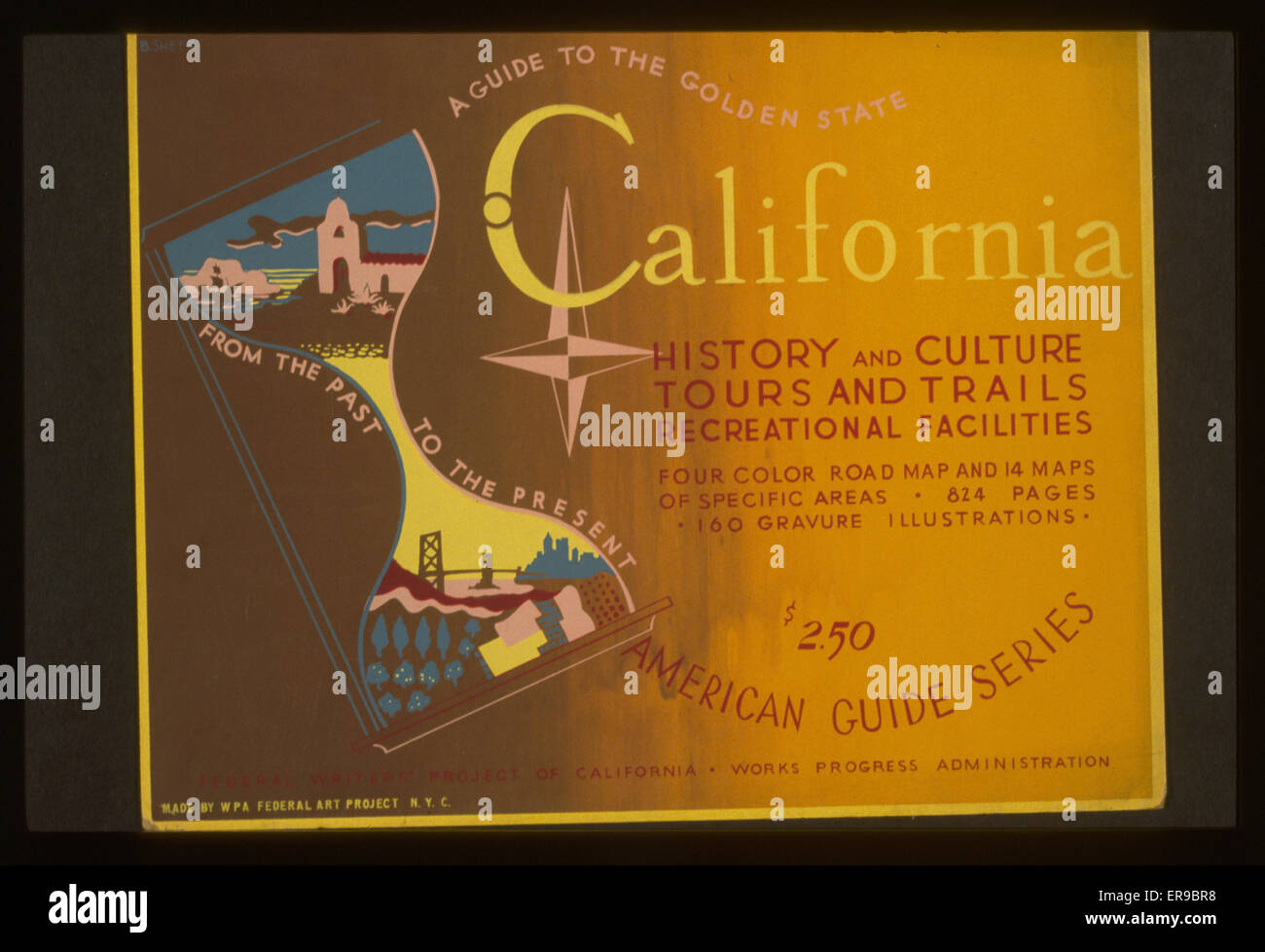a guide to the golden state from the past to the present california rh alamy com Golden Guide Birds Golden Guide Pond Life