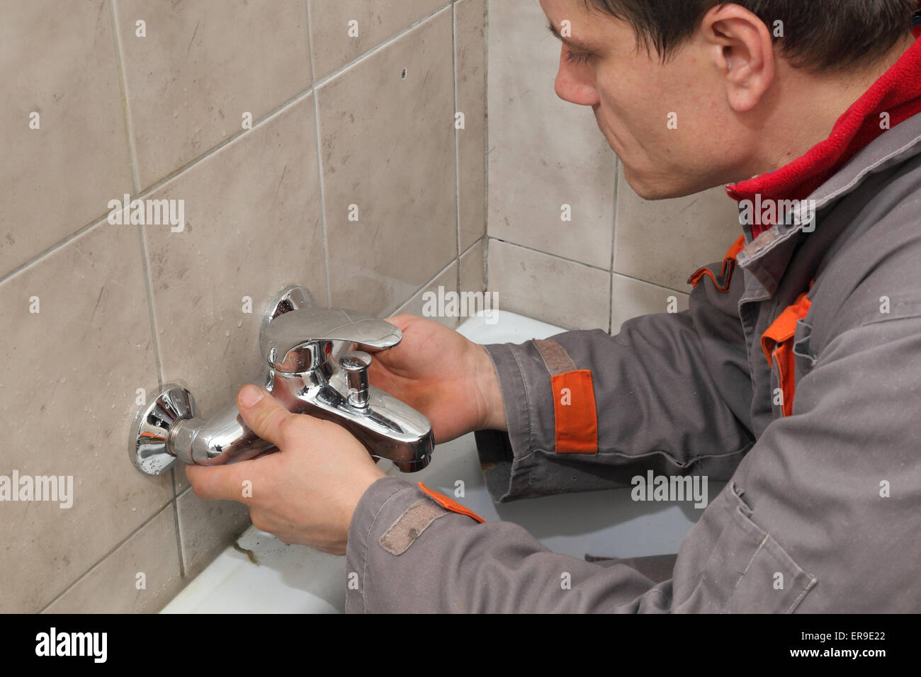 how to fix bathroom tap