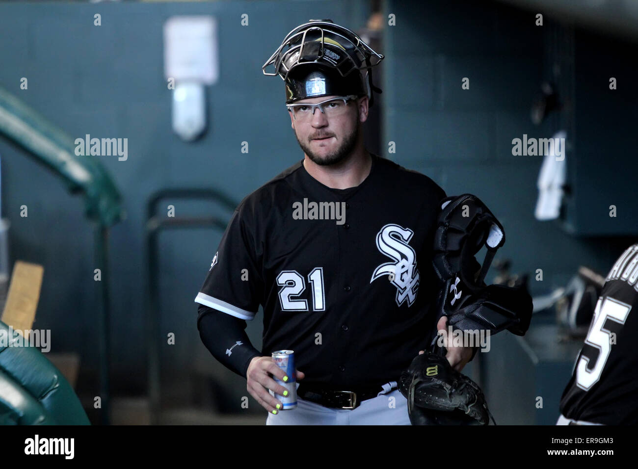 Houston Tx Usa 29th May 2015 Chicago White Sox Catcher Tyler