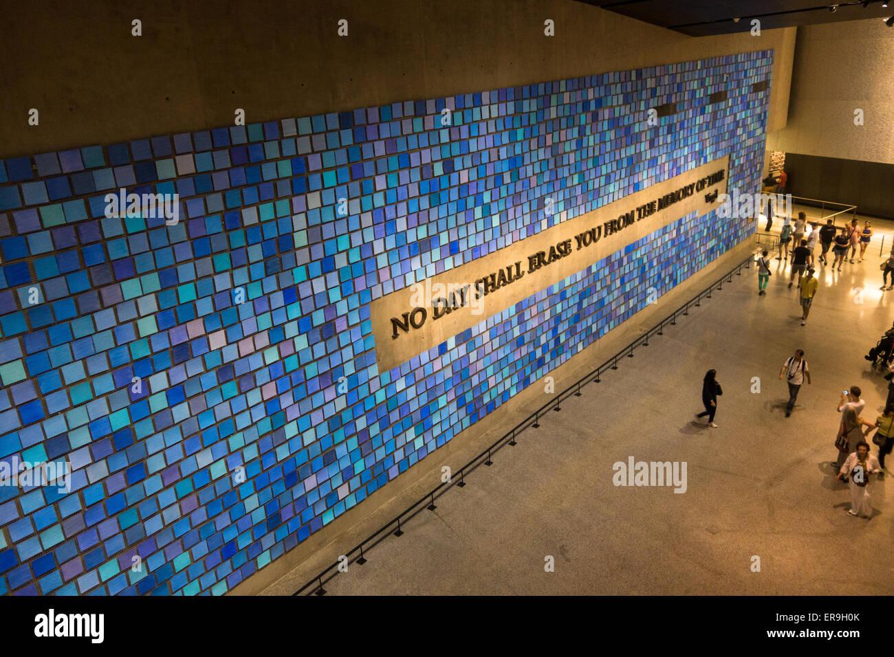 National September 11 Memorial & Museum, New York, New York USA - Stock Image
