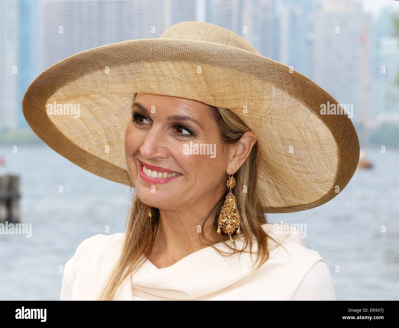 Toronto, 29-05-2015 HM Queen Maxima visit to Toronto Island 3th Day of the 3 days State-visit from HM King Willem - Stock Image