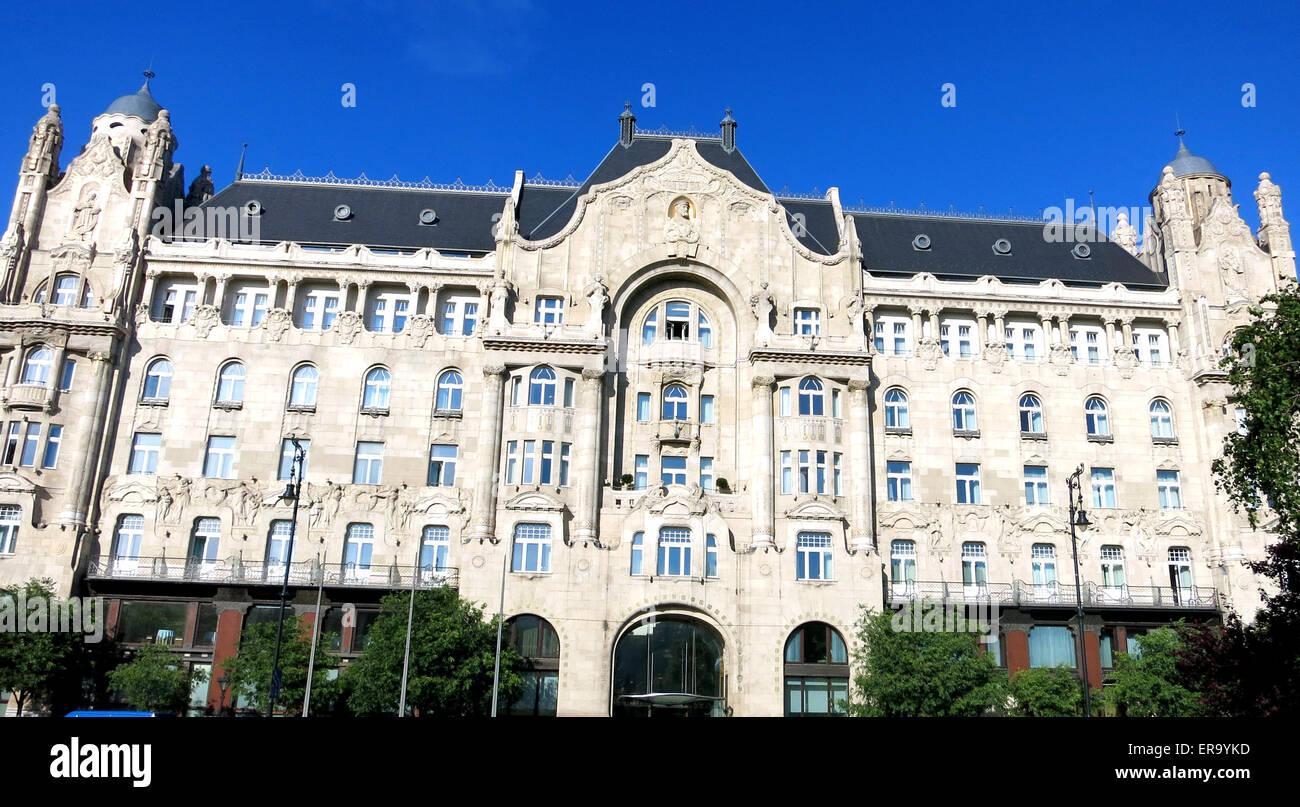 Four Seasons Hotel Gresham Palace Budapest Hungary Stock Photo