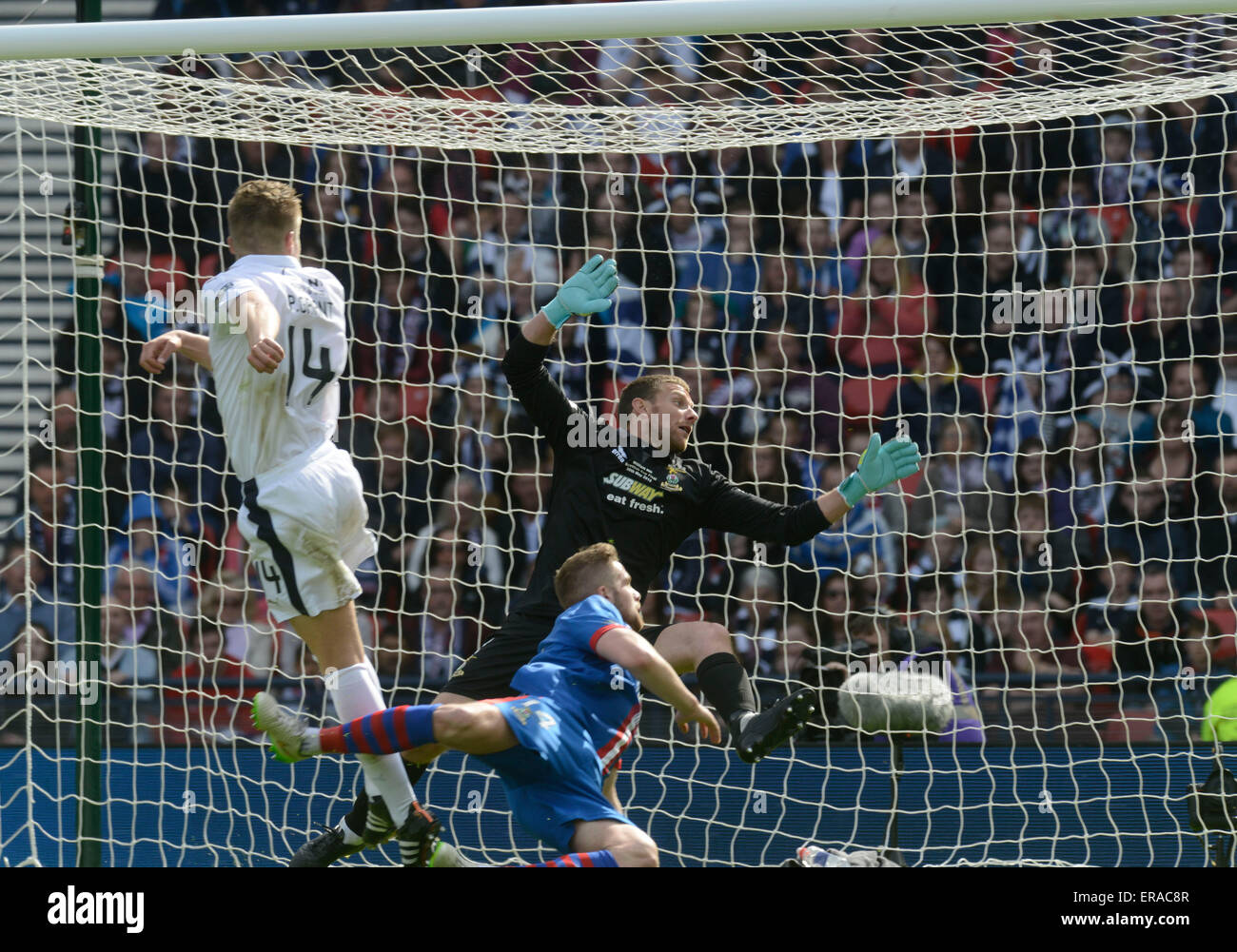 Glasgow, Scotland, UK. 30th May, 2015. Scottish Cup Final at Hampden Park, 30th of May 2015; Inverness V Falkirk. - Stock Image