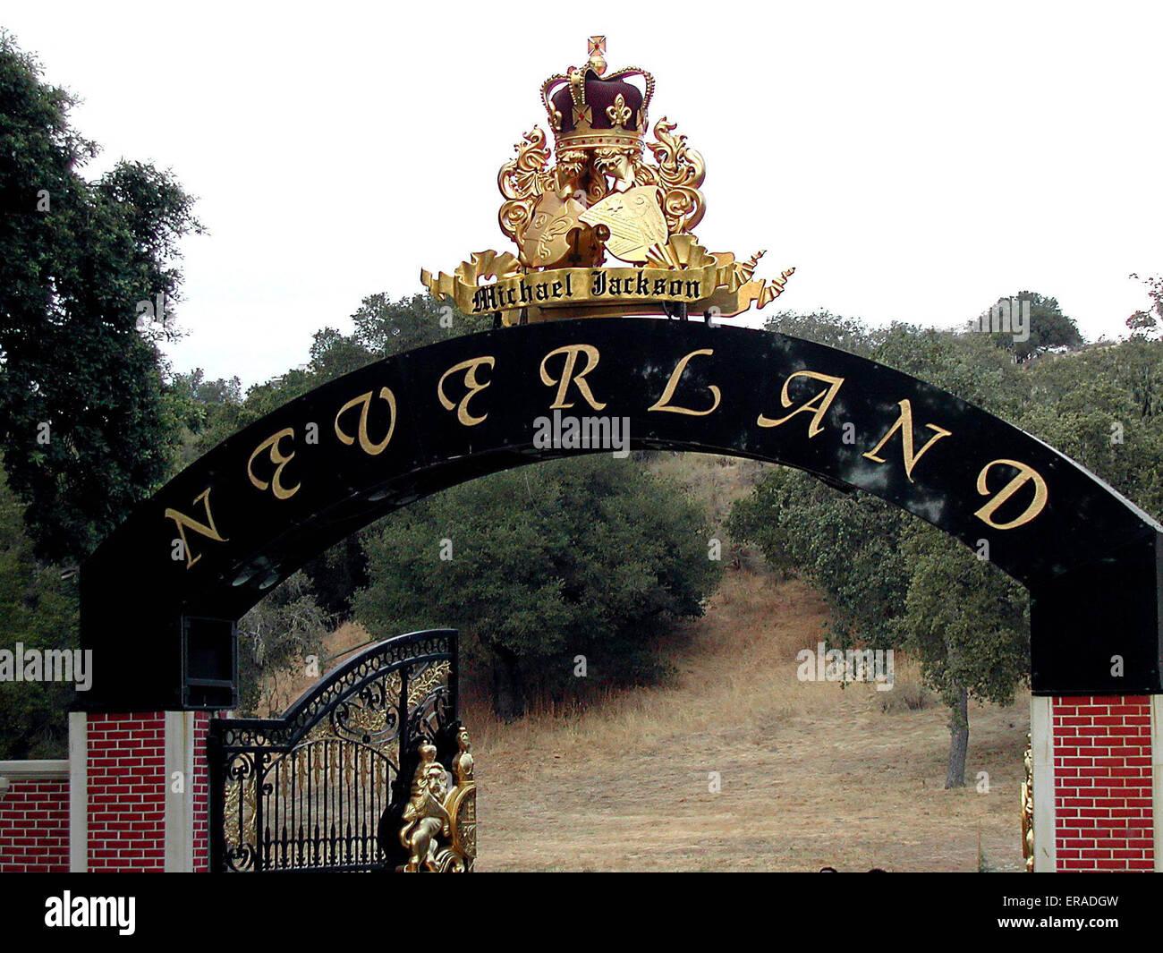 Neverland Ranch Michael Jackson Stock Photos Amp Neverland