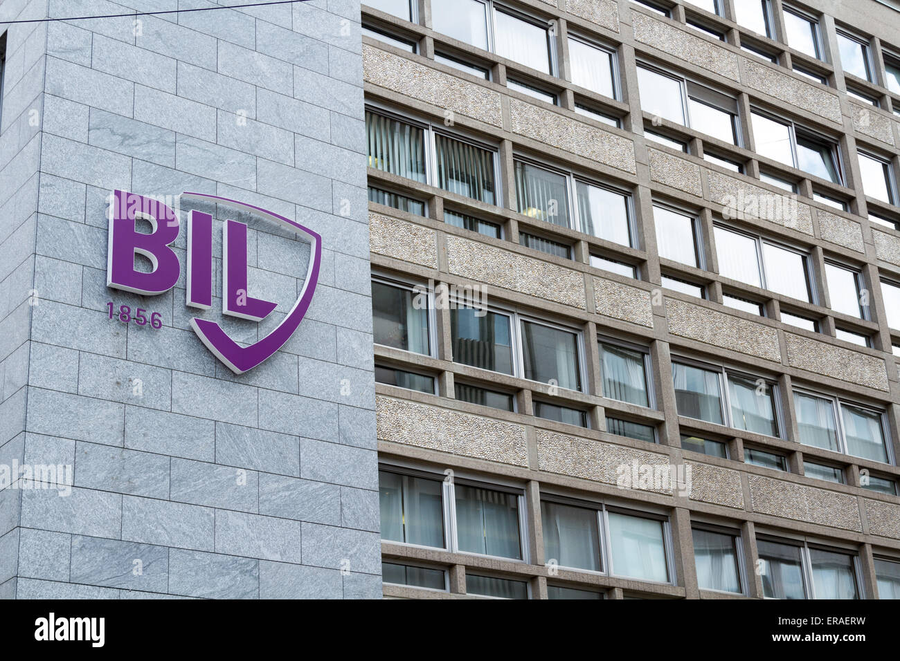 BIL Bank Internationale a Luxembourg - Stock Image