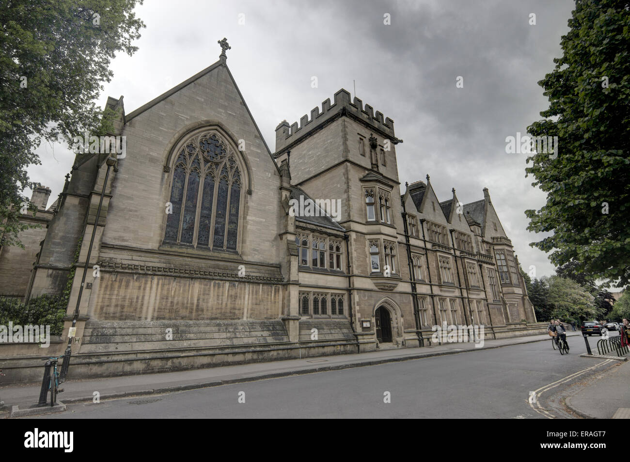 Harris Manchester College is Oxford, - Stock Image