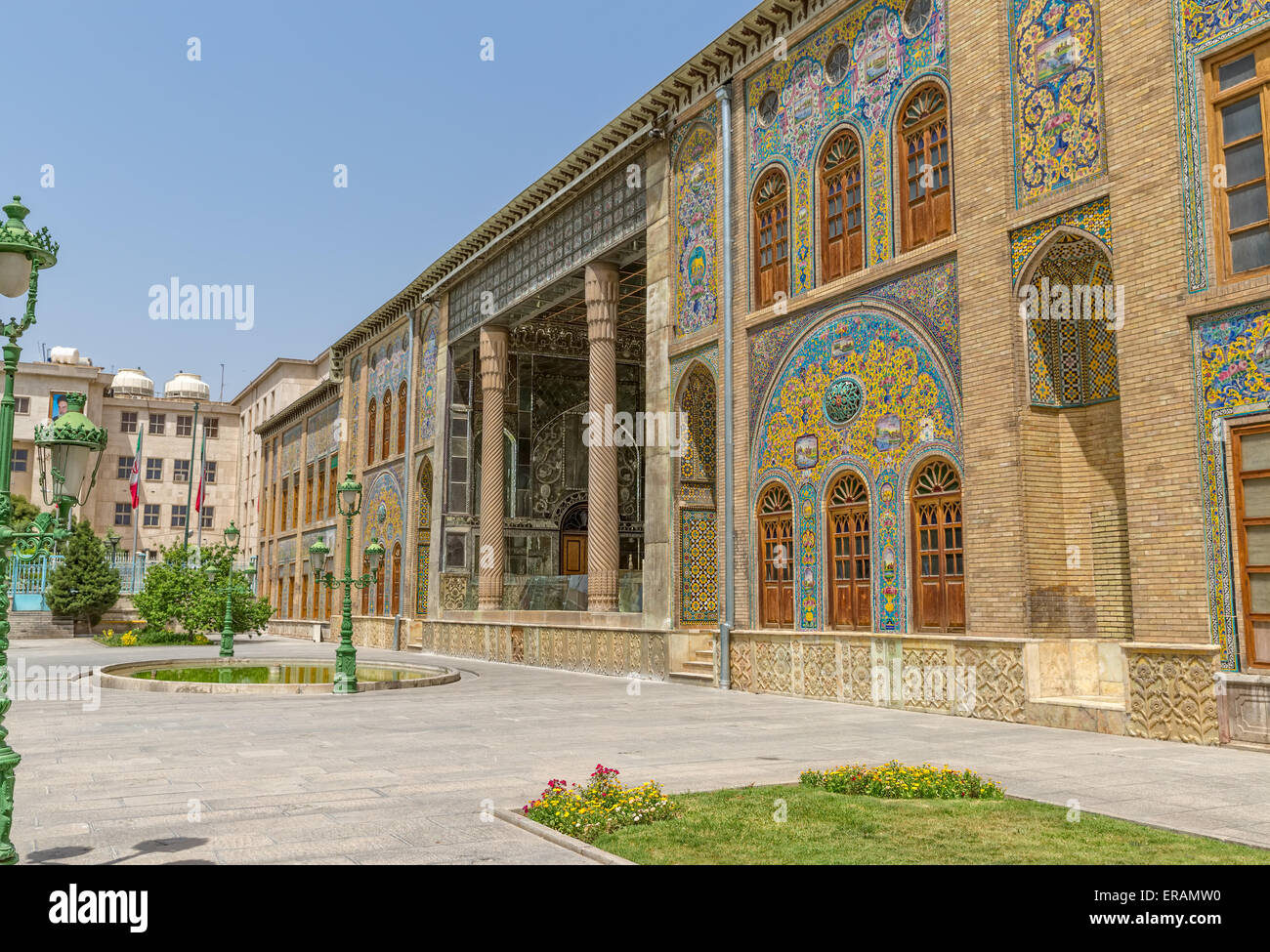 Old Golestan Palace - Stock Image