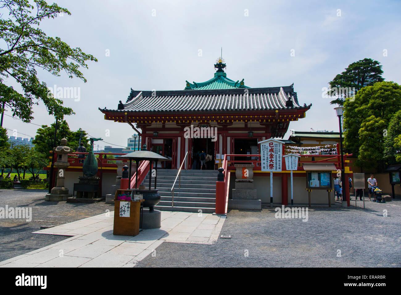 Shinobazu Bentendo temple,Ueno Park,Taito-Ku,Tokyo,Japan Stock Photo