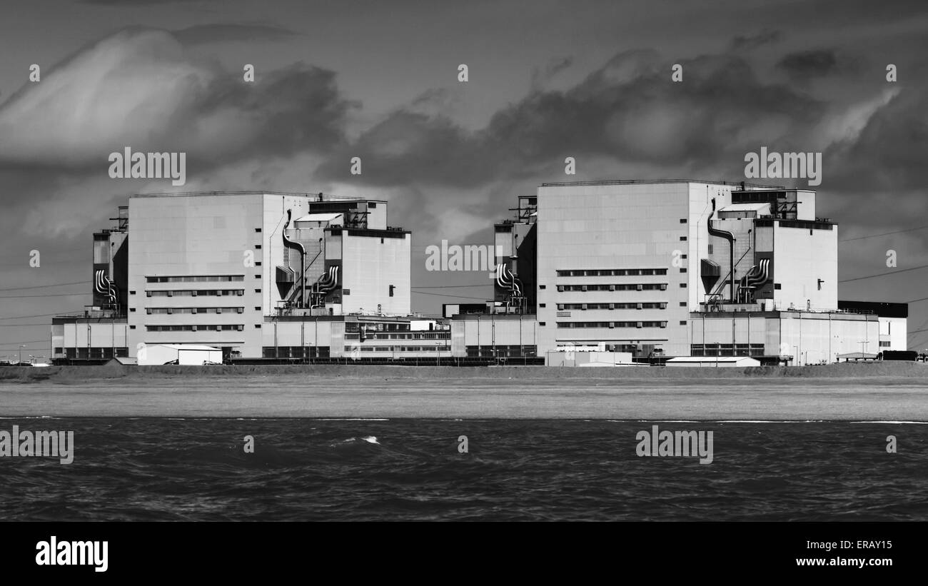 Dungeness power station - Stock Image