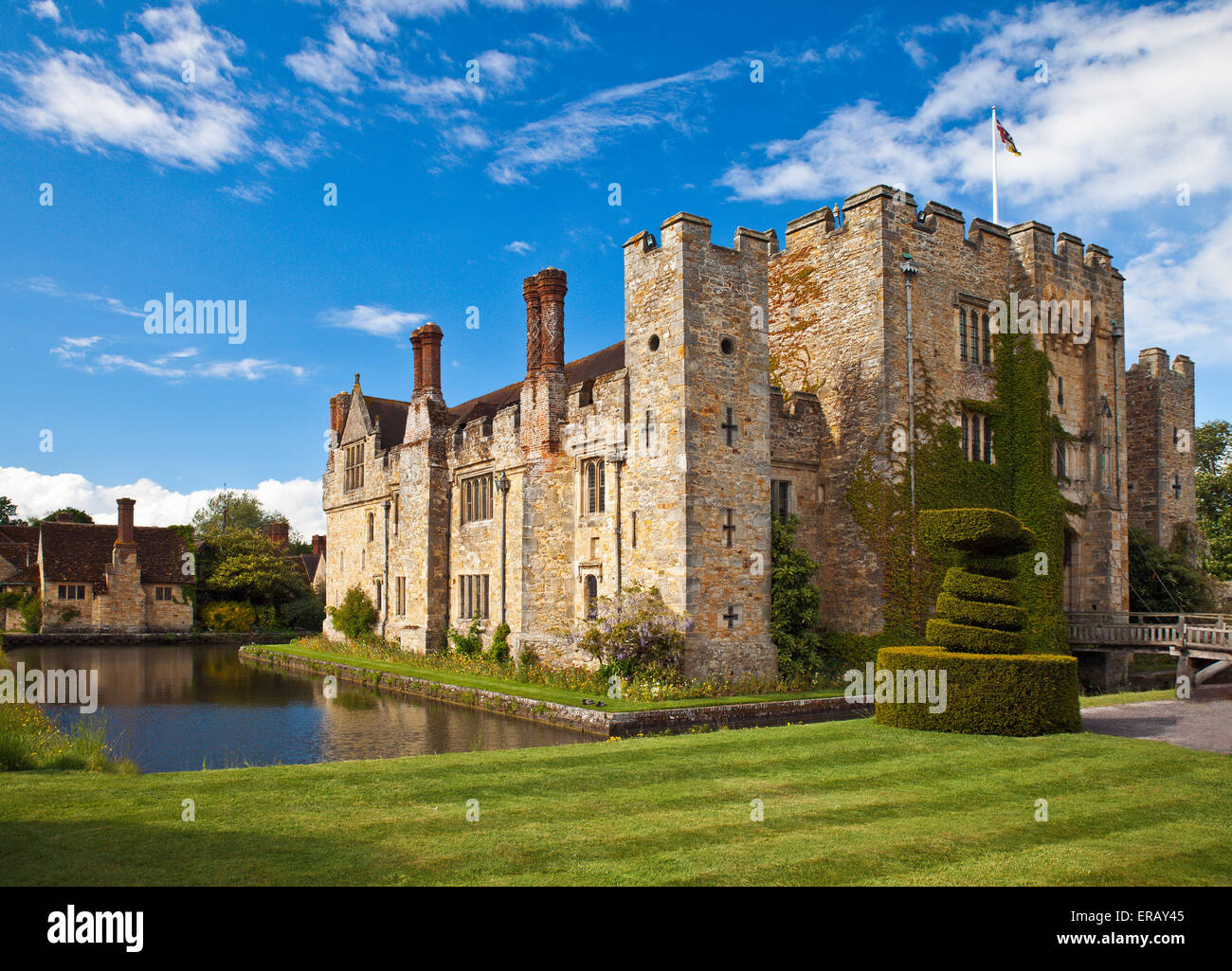 Hever Castle, Kent. - Stock Image