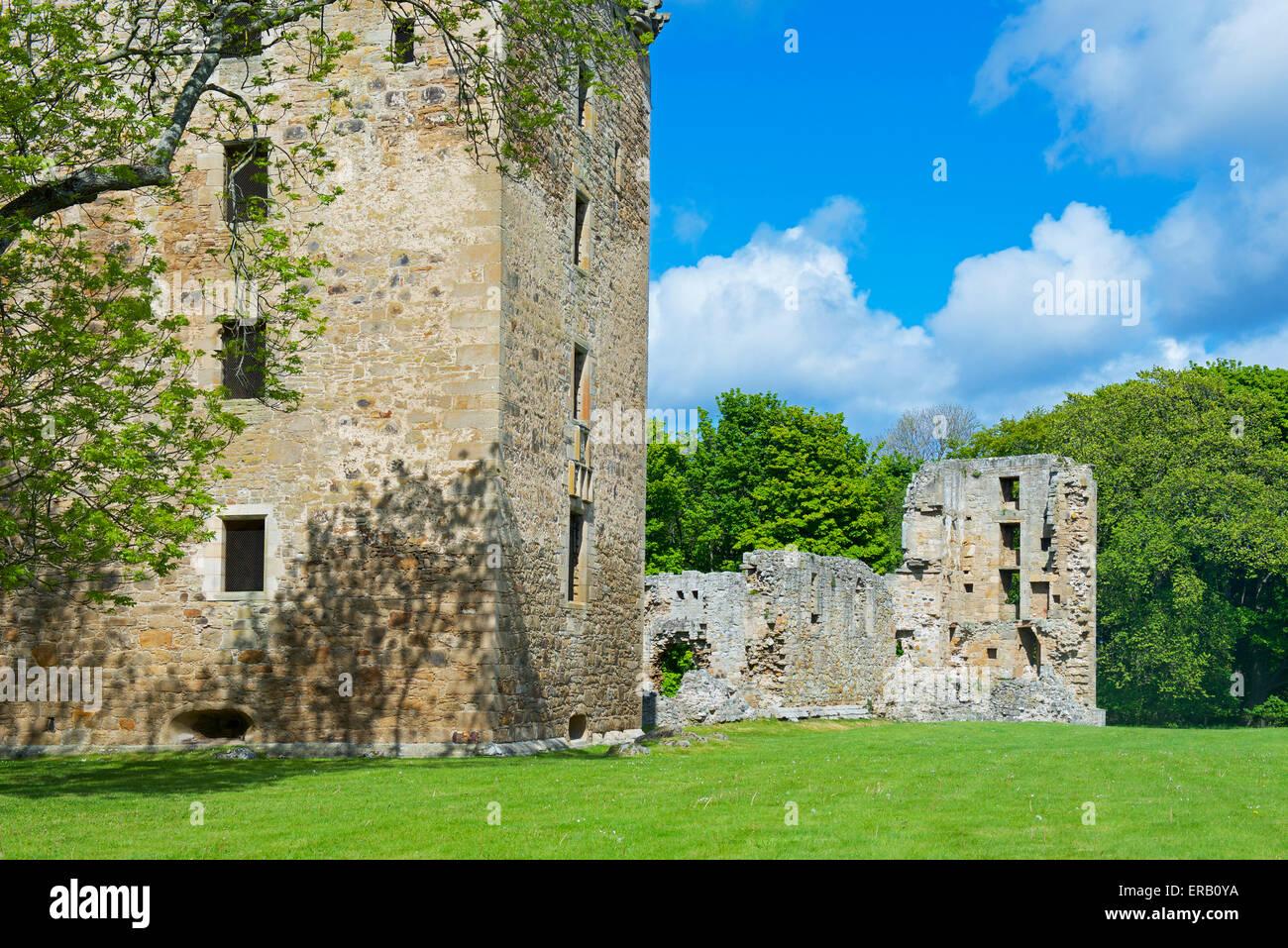Spynie Palace, near Elgin, Moray, Scotland UK Stock Photo