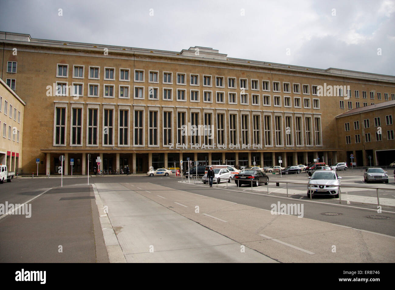 Flughafen Tempelhof, Berlin-Tempelhof. - Stock Image
