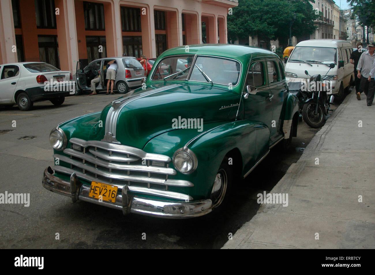 Oldtimer, Havanna, Kuba. Stock Photo