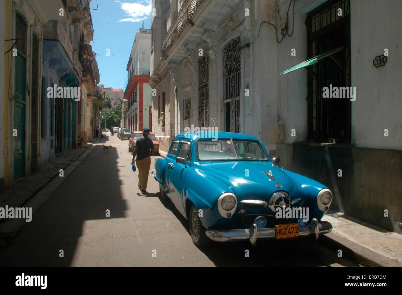 Oldtimer, Havanna, Kuba. - Stock Image