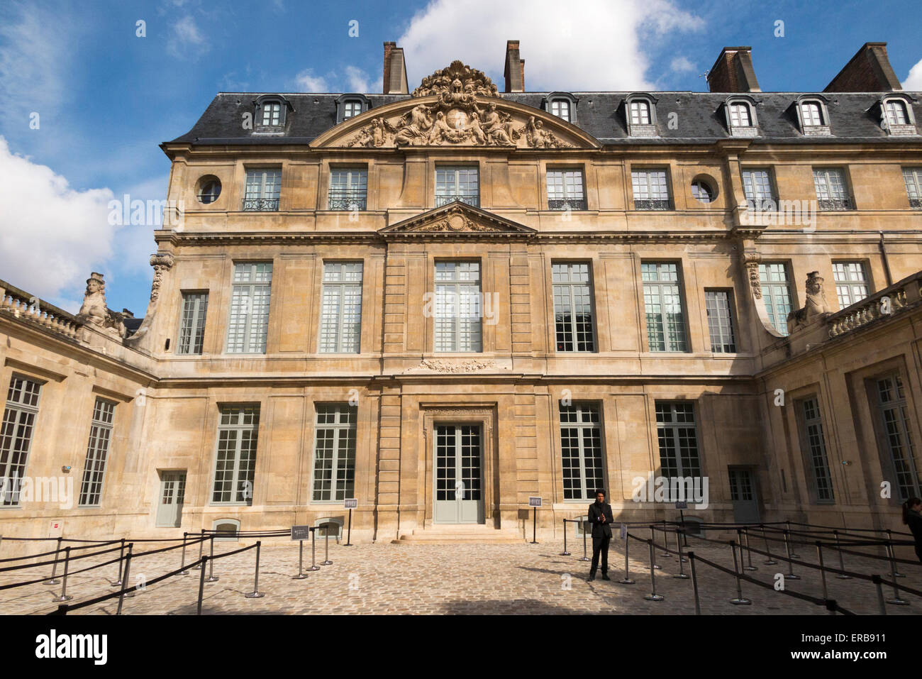 Museo Picasso Paris.Exterior Outside Front Facade Of Musee National Picasso Paris Museum