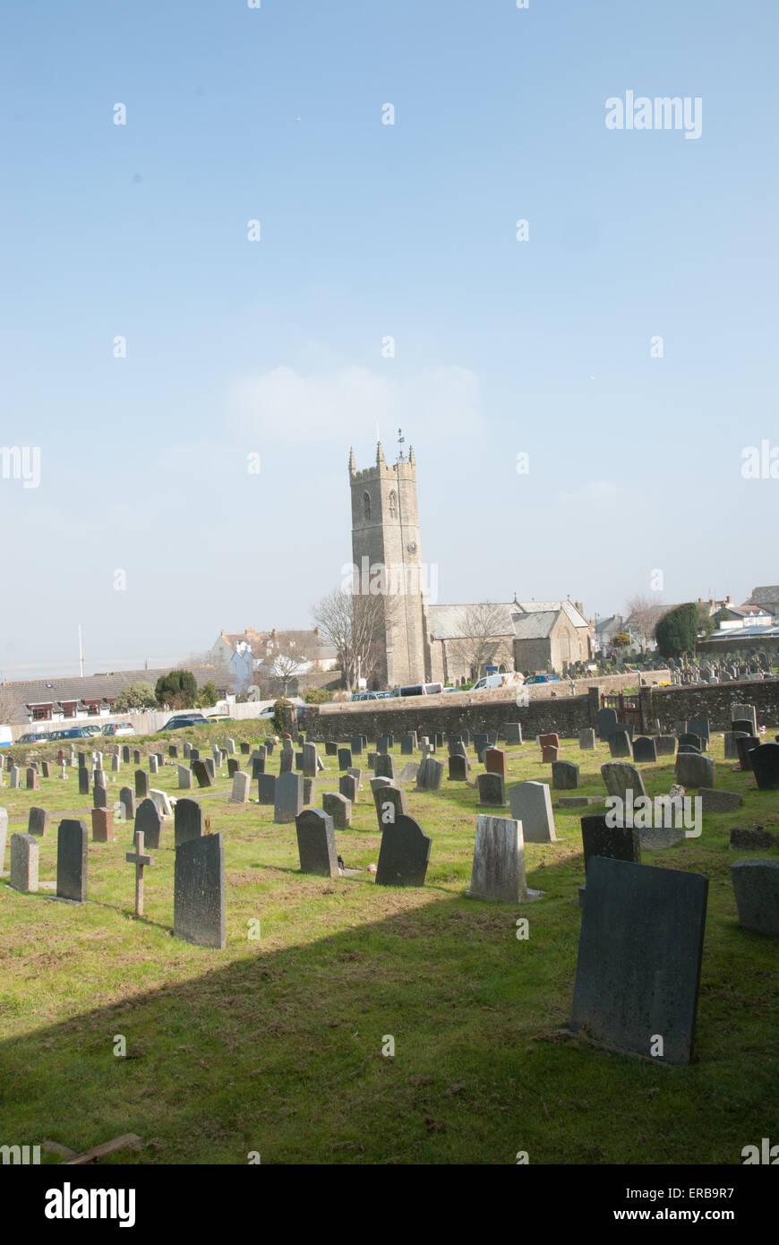 St Margaret Church, Northam, North Devon - Stock Image