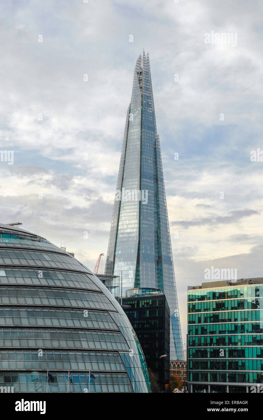 modern office, architecture detail, London, UK - Stock Image