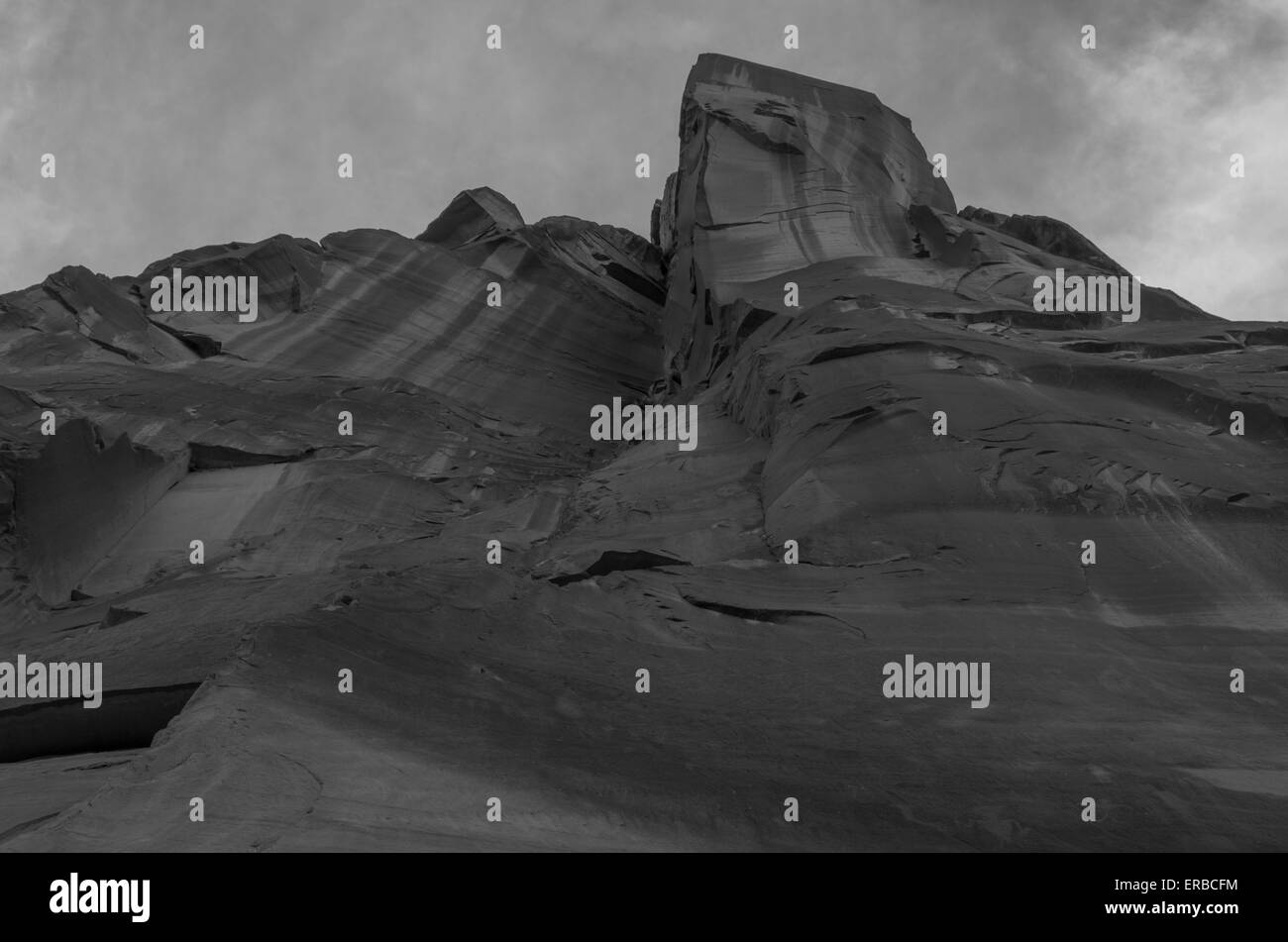 Desert Tower, Moab, Utah - Stock Image