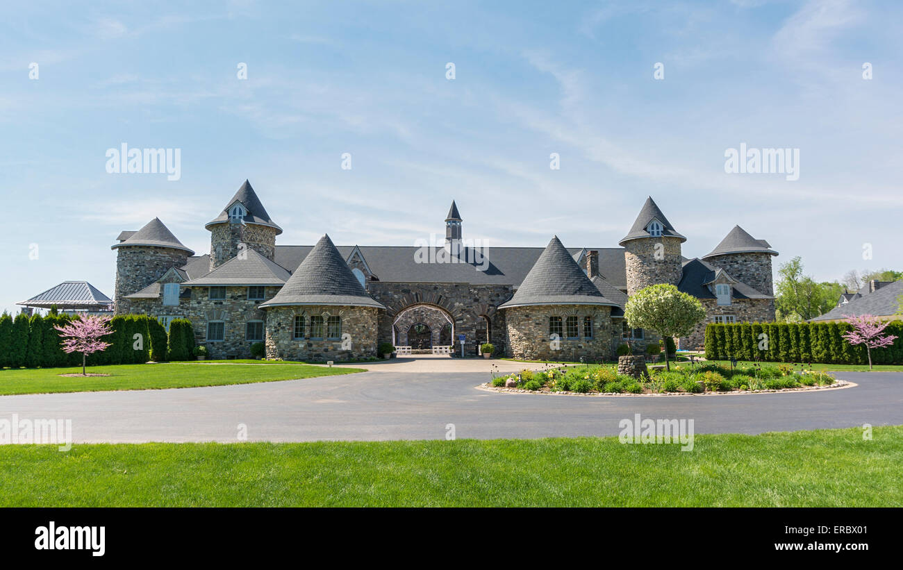 Michigan, Charlevoix, Castle Farms - Stock Image