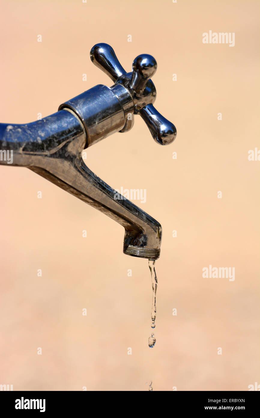 Running tap - Stock Image