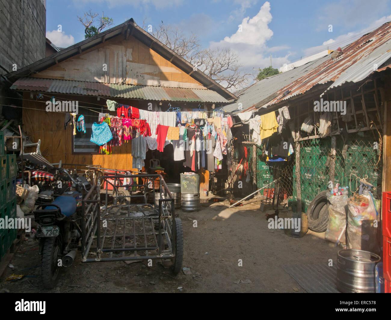 Local laundry home service in Ilo Ilo, Philippines - Stock Image