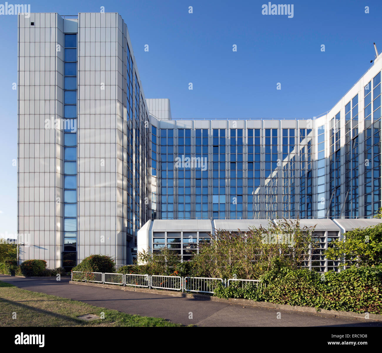 Ministry of Internal Affairs and Municipal Issues NRW, Düsseldorf, Rhineland, North Rhine-Westphalia, Germany - Stock Image