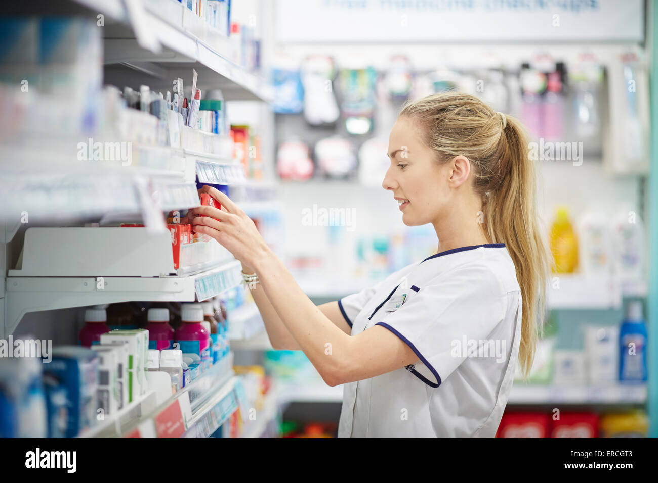 Previously known as the Co-operative Pharmacy Well Pharmacy at Gorse Stacks Integrated Care Centre, Delamere Street, - Stock Image