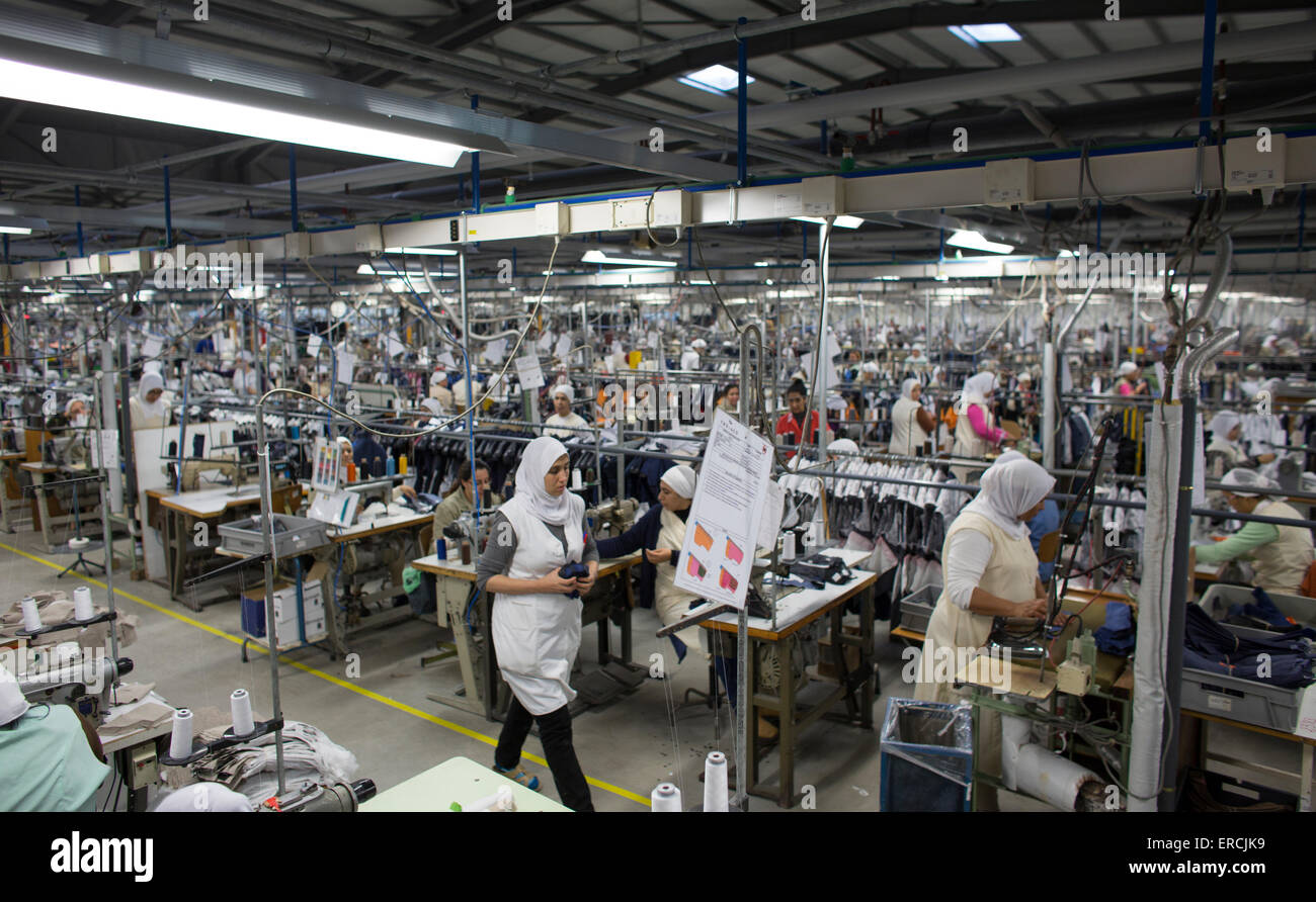the clothing factory