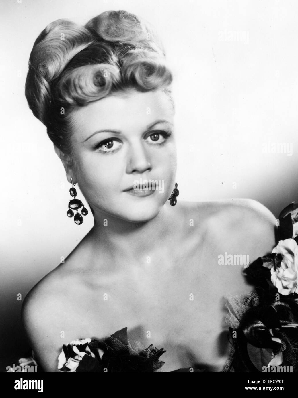 ANGELA LANSBURY  English-American actress about 1950 - Stock Image