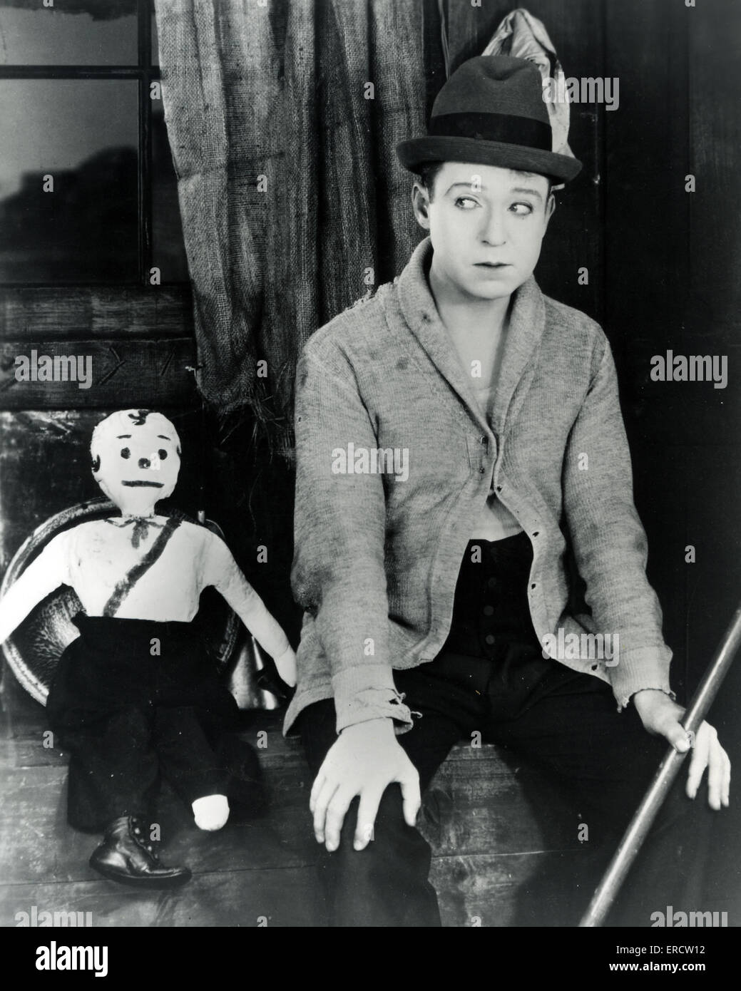 HARRY LANGDON (1884-1944) American silent film comedian about 1926 - Stock Image
