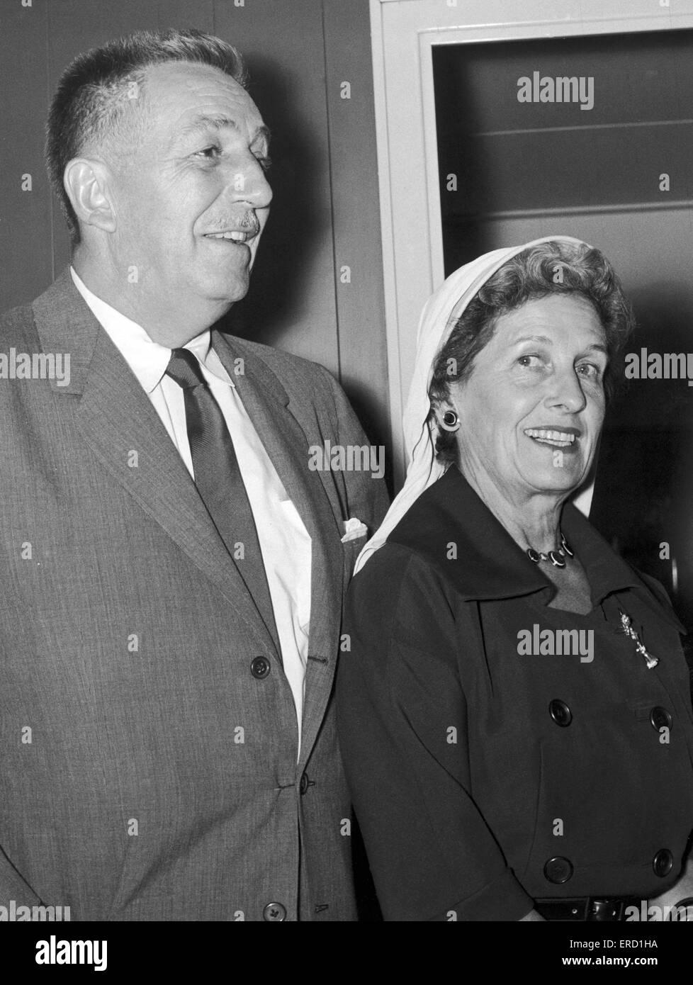 Walt disney spouse