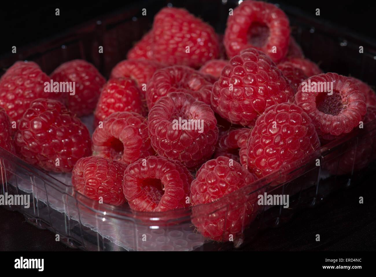 Raspberries, raspberry - Stock Image