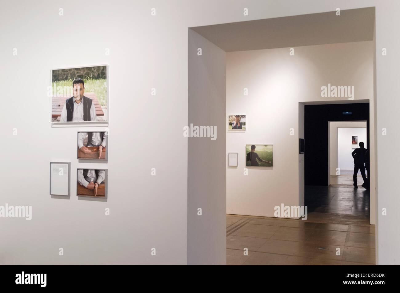 Sophie Calle exhibition at La Virreina Centre de la Imatge, Barcelona, Spain - Stock Image