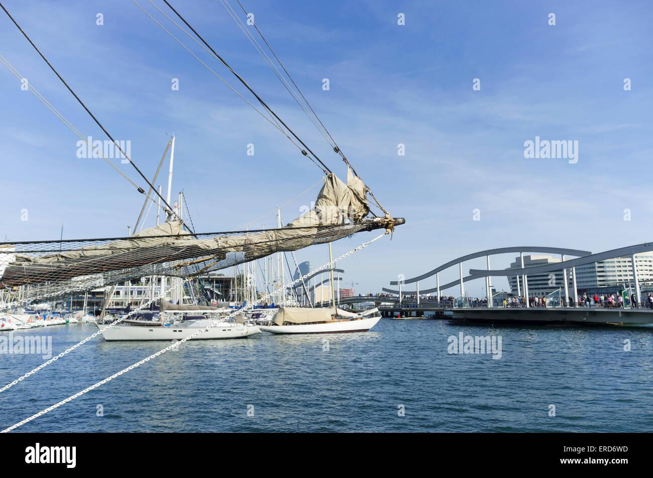 Port Vell, Barcelona, Spain - Stock Image